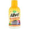 Nature's Way, Alive!, Liquid Fiber with Prebiotics, Tropical Citrus Flavored, 16 fl oz (480 ml)
