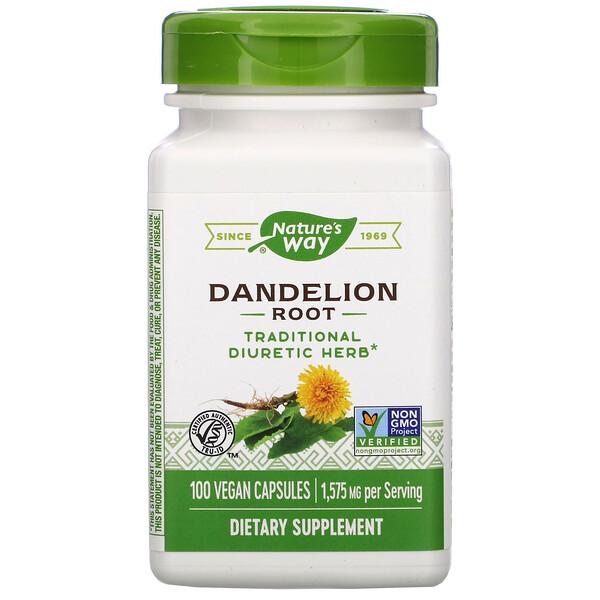 Dandelion Root, 1,575 mg, 100 Vegan Capsules