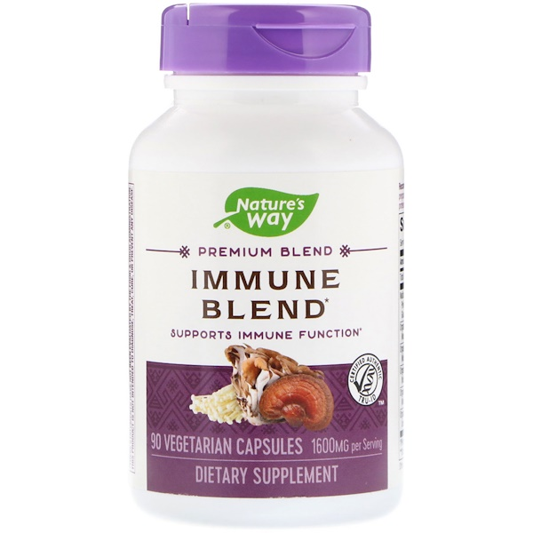 Nature's Way, Immune Blend, 1600 mg, 90 Vegetarian Capsules