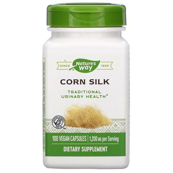 Corn Silk, 1,200 mg, 100 Vegan Capsules