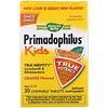 Nature's Way, Primadophilus, для детей, со вкусом апельсина, 3 млрд КОЕ, 30 жевательных таблеток