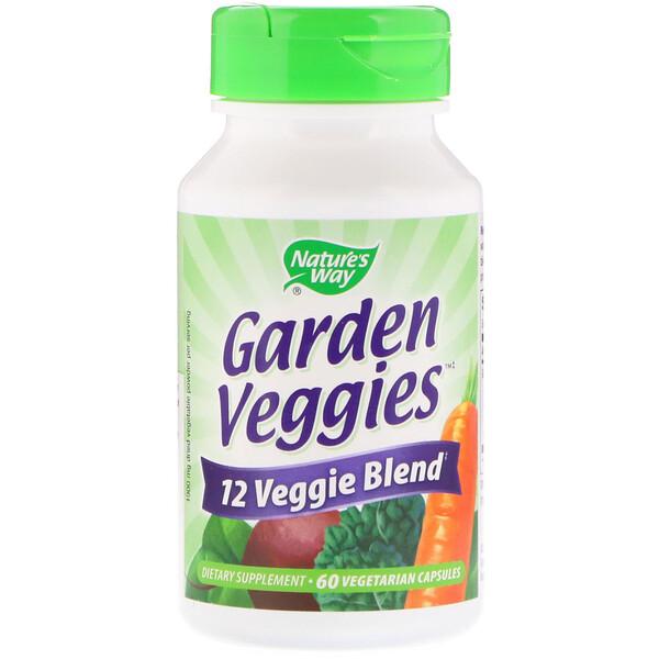 Nature's Way, Садовые плоды, 60 вегетарианских капсул