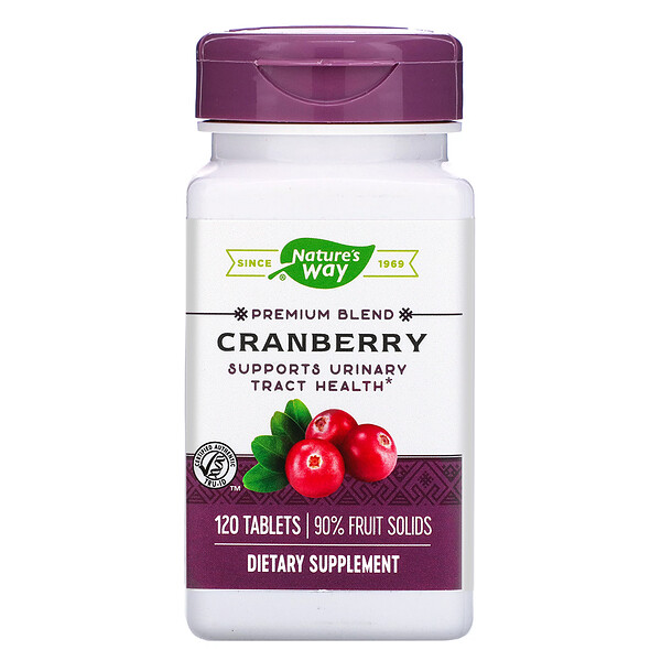 Cranberry, 120 Tablets