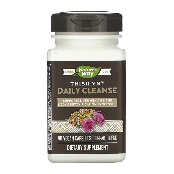 Thisilyn Daily Cleanse, 90 Vegan Capsules