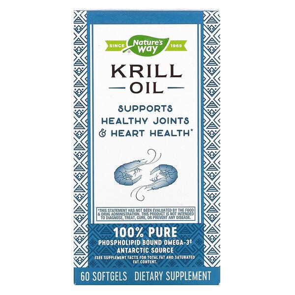 EfaGold, масло криля, 500 мг, 60 мягких капсул