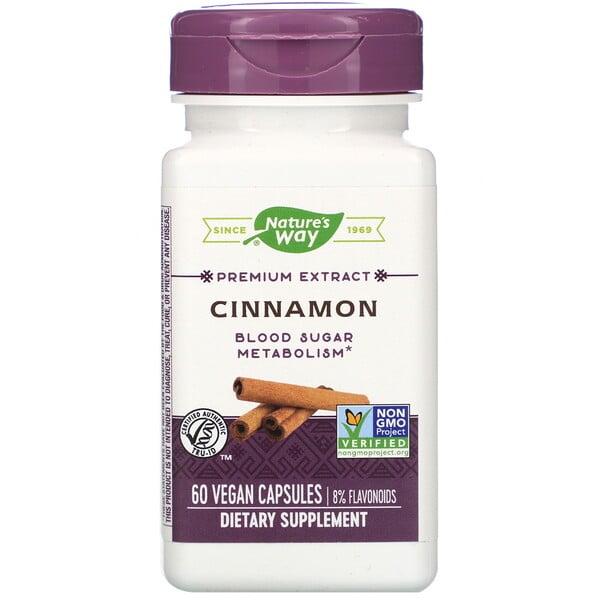 Cinnamon, 60 Vegan Capsules
