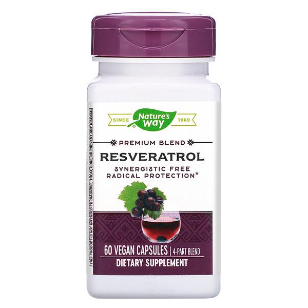 Resveratrol, 60 Vegan Capsules