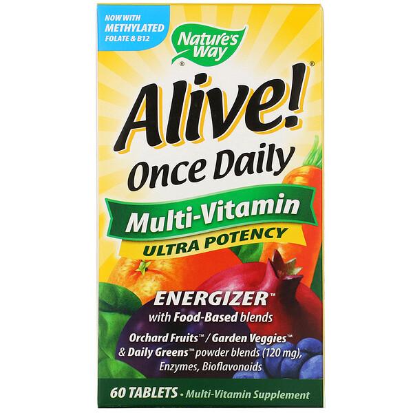 Живой! Мультивитамины для приема один раз в день, 60 таблеток