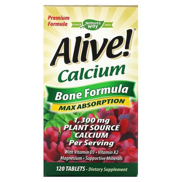 Живой! Кальций, костная формула, 120 таблеток