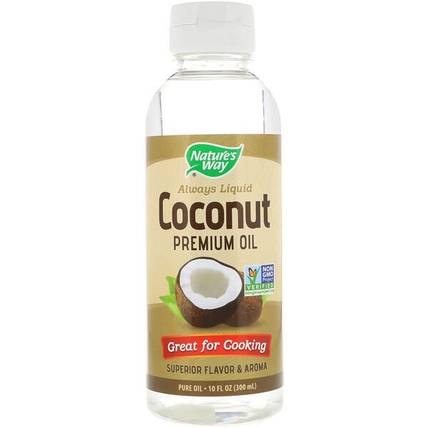 Жидкое кокосовое масло премиального качества, 300мл (10жидк.унций)