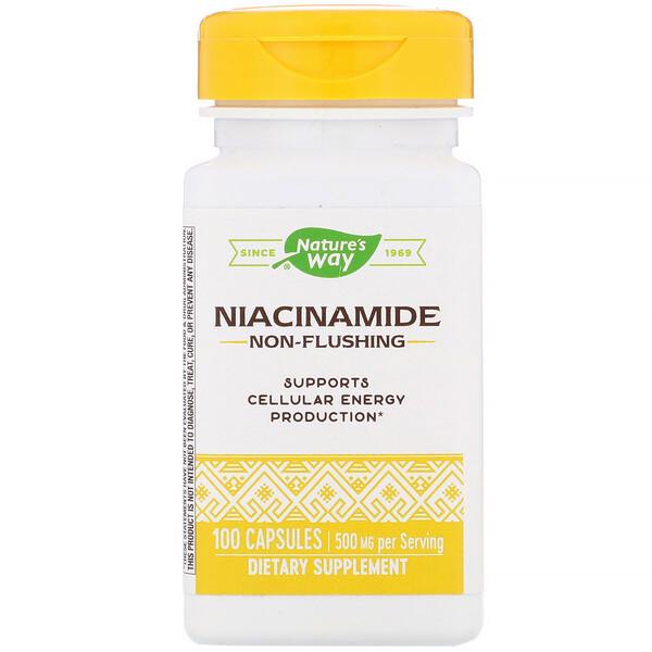 Никотинамид, 500 мг, 100 капсул