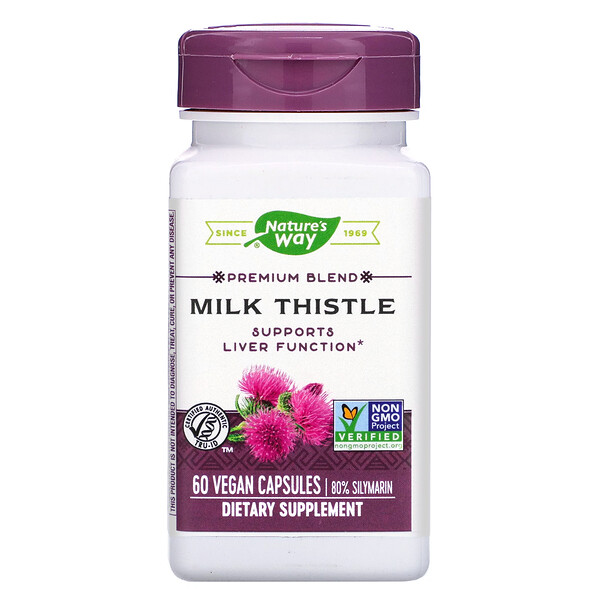 Milk Thistle, 60 Vegan Capsules