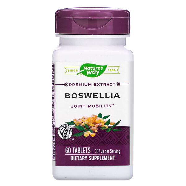 Nature's Way, Босвеллия, стандартизированная, 60 таблеток