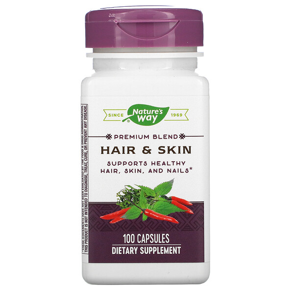 Hair & Skin, 100 Capsules
