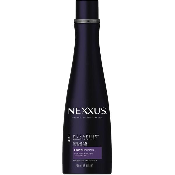 Nexxus, Keraphix, шампунь для восстановления поврежденных волос, 400мл (13,5жидк.унции)