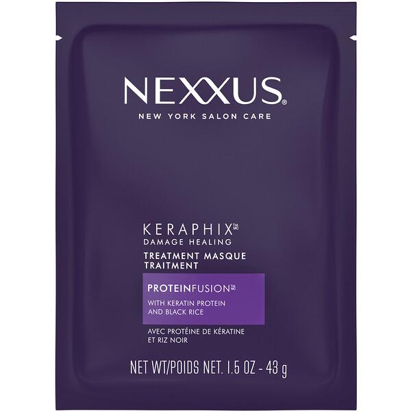 Nexxus, Восстанавливающая маска для поврежденных волос Keraphix, 43г