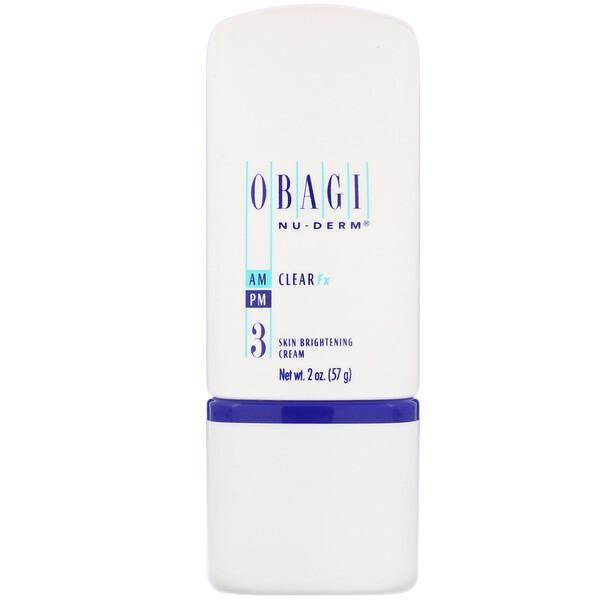Nu-Derm, Clear Fx, Skin Brightening Cream,  2 oz (57 g)