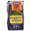 Organic Coffee Co., Java Love, Pre Ground, 12 oz (340 g)