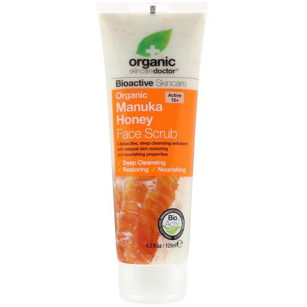 Organic Doctor, Органический скраб для лица с медом манука, 4,2 ж. унц. (125 мл) (Discontinued Item)
