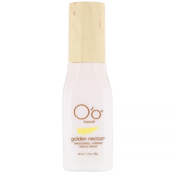 Golden Nectar, Brightening + Firming Ferulic Serum, 1.4 oz (40 ml)