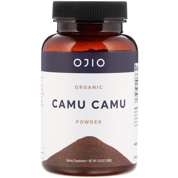 Organic Camu Camu Powder, 3.53 oz (100 g)