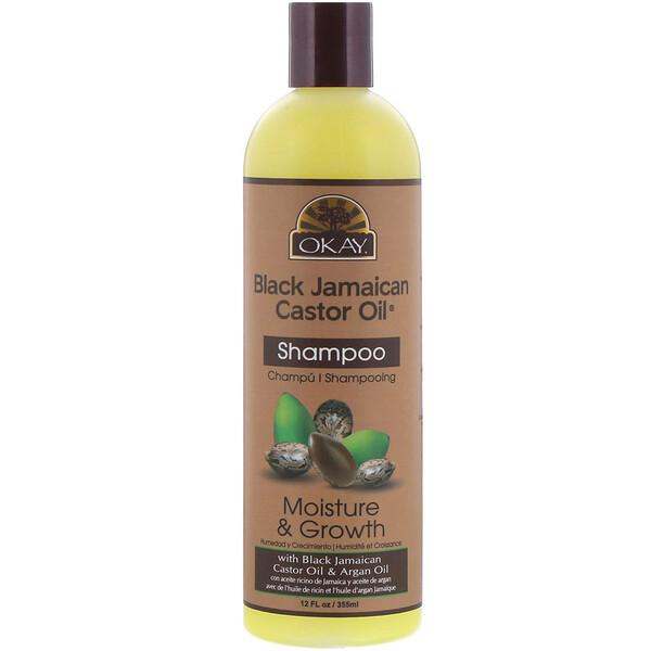 Black Jamaican Castor Oil, черное ямайское касторовое масло, шампунь, 355 мл (12 жидк.унций)