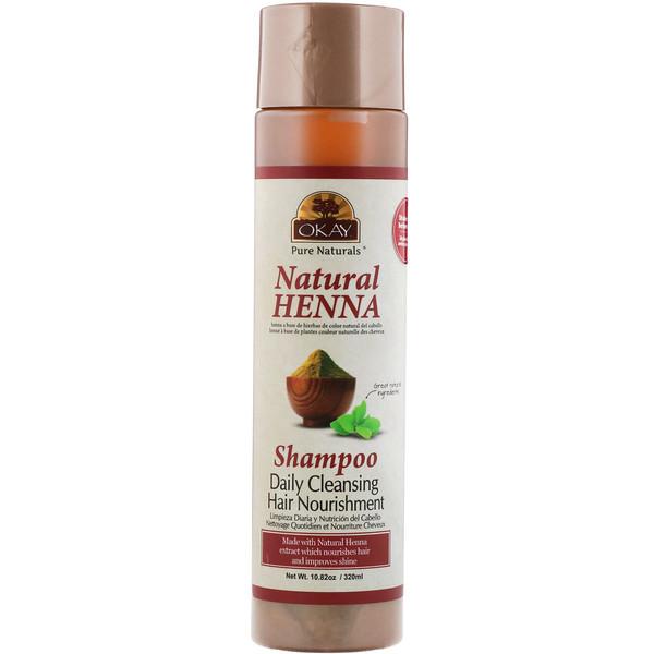 Natural Henna Shampoo, 10.82 oz (320 ml)