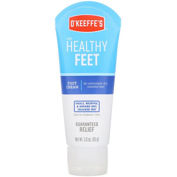 Healthy Feet, крем для ног, без запаха, 3 унц. (85 г)