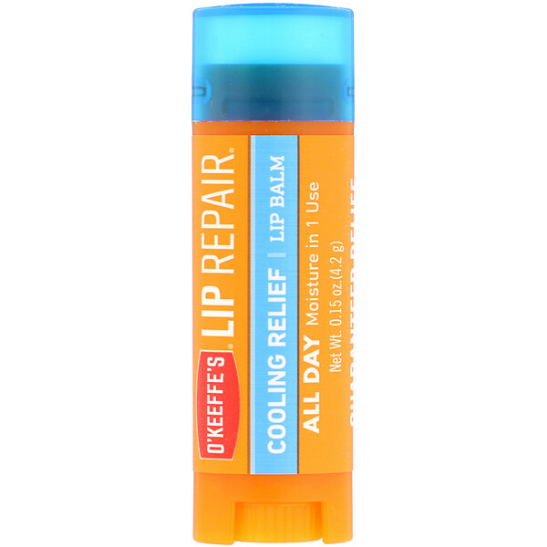 Lip Repair, Cooling Relief, Lip Balm, 0.15 oz (4.2 g)
