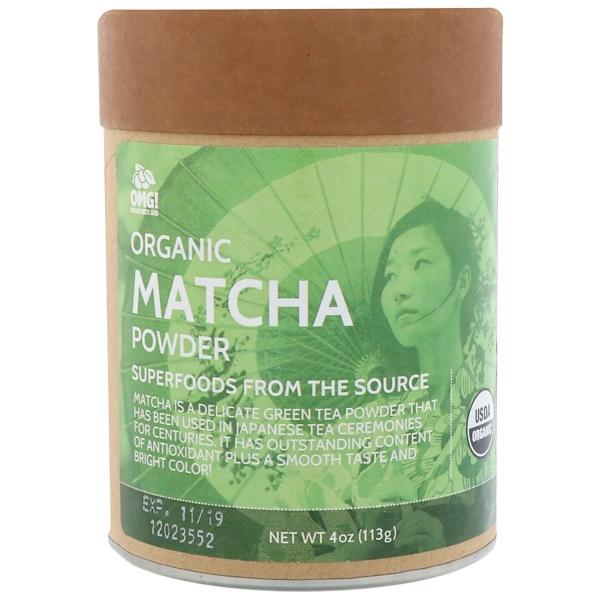 OMG! Organic Meets Good, Органический порошок матти, 4,0 унц. (113 г) (Discontinued Item)