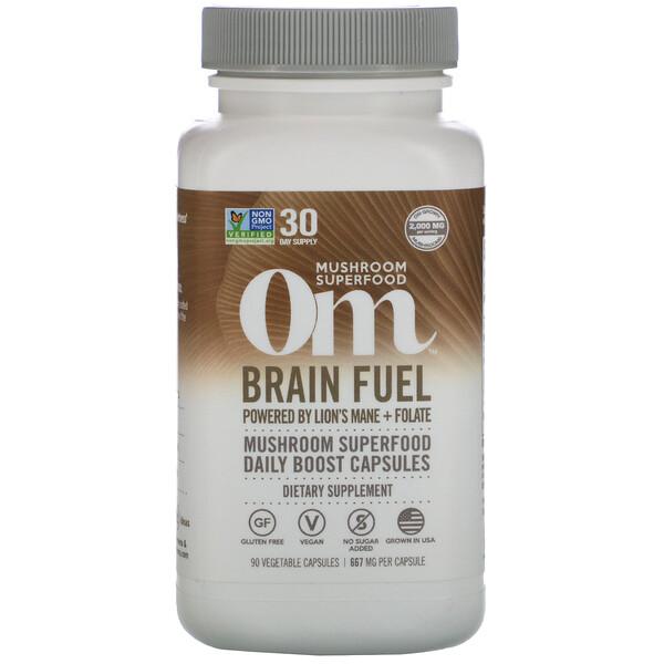 Brain Fuel, 667 mg, 90 Vegetarian Capsules