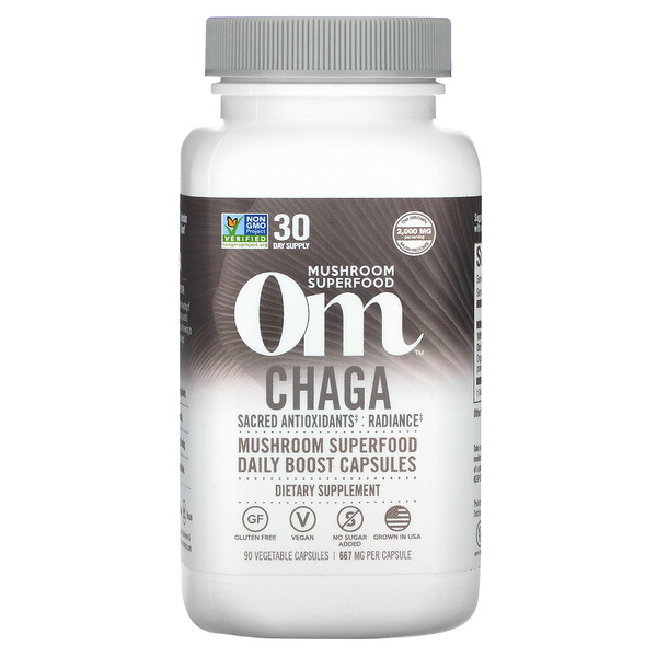Chaga, 667 mg, 90 Vegetable Capsules