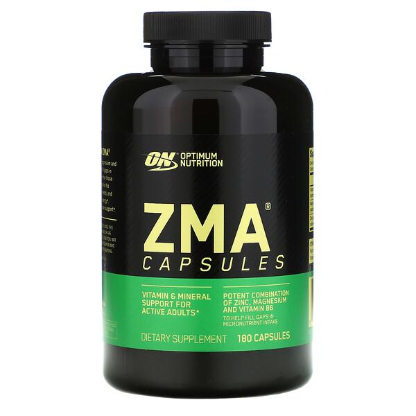 Optimum Nutrition, ZMA, 180капсул