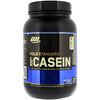 Optimum Nutrition, Gold Standard 100% Casein, казеин со вкусом печенья и сливок, 909 г (2 фунта)