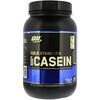 Optimum Nutrition, Gold Standard 100% Casein, казеин со вкусом превосходного шоколада, 909 г (2 фунта)