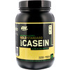 Optimum Nutrition, Gold Standard 100% Casein, Naturally Flavored, Chocolate Creme, 2 lbs (907 g)