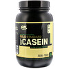 Optimum Nutrition, Gold Standard 100% Casein, Naturally Flavored, French Vanilla, 2 lbs (907 g)