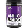 Optimum Nutrition, Essential Amin.O. Energy, виноград «Конкорд», 270 г (9,5 унции)