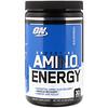 Optimum Nutrition, Essential Amin.O. Energy, голубая малина, 270 г (9,5 унций)