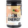 Optimum Nutrition, Essential Amino Energy, белый персиковый чай, 9,5 унций (270 г)
