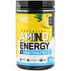Optimum Nutrition, Незаменимая энергия аминокислот + электролиты, со вкусом ананаса, 285 г