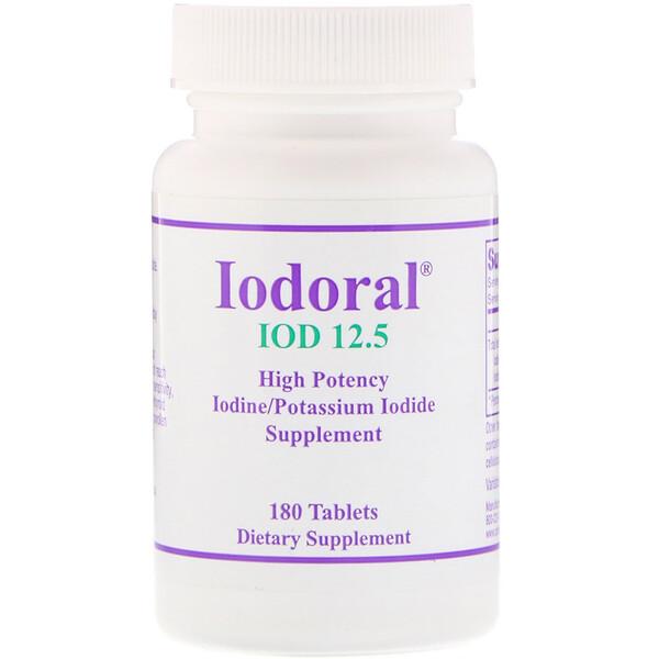 Optimox, Иодорал, 180 таблеток