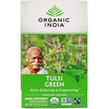 Organic India, Чай с тулси, зеленый, 18пакетиков, 34,2г (1,21 унции)