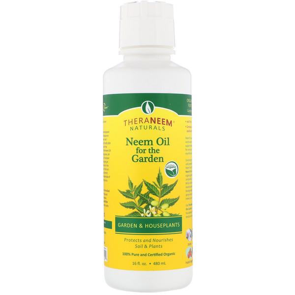 Organix South, TheraNeem Naturals, масло нима для сада, для садовых и комнатных растений, 480 мл (16 жидк.унций)