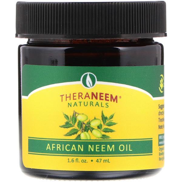 TheraNeem Naturals, масло африканского нима, 1,6 ж. унц. (47 мл)