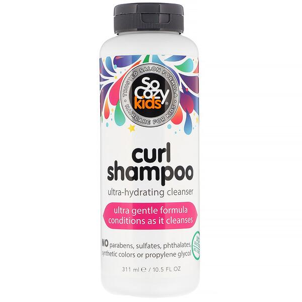SoCozy, Kids, Curl Shampoo, шампунь для детей, ультраувлажнение и очищение, 311мл (10,5 жидк.унции)