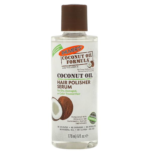 Coconut Oil Formula, сыворотка для разглаживания волос, 178 мл (6 жидких унций)