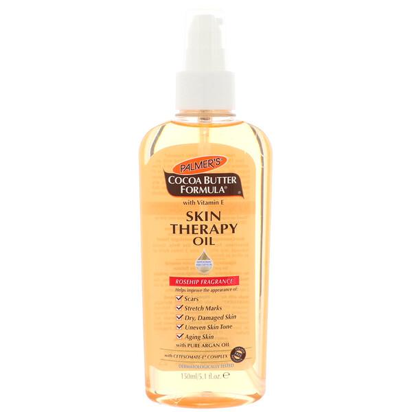 Cocoa Butter Formula, масло для кожи, с ароматом шиповника, 150 мл (5,1 жидкой унции)