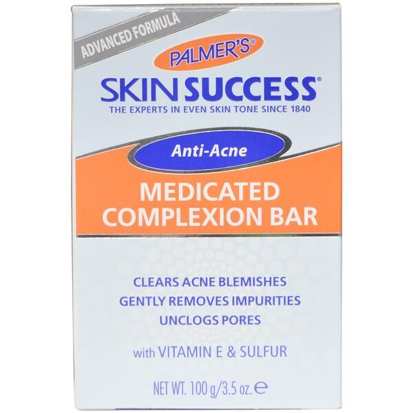 Skin Success, средство против акне, лечебное мыло для кожи лица, 100 г (3,5 унции)