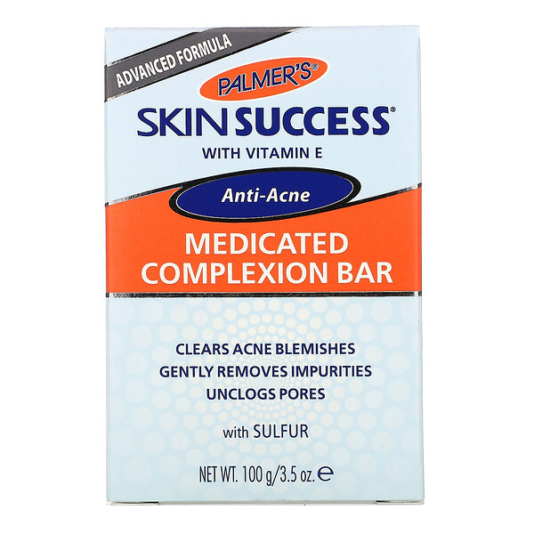 Skin Success, лечебное мыло, от угревой сыпи, 100г (3,5унции)